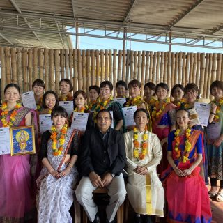 <h6>2019年度Diplomaコース(インド実技研修)のレポート~ディプロマ授与式~</h6>